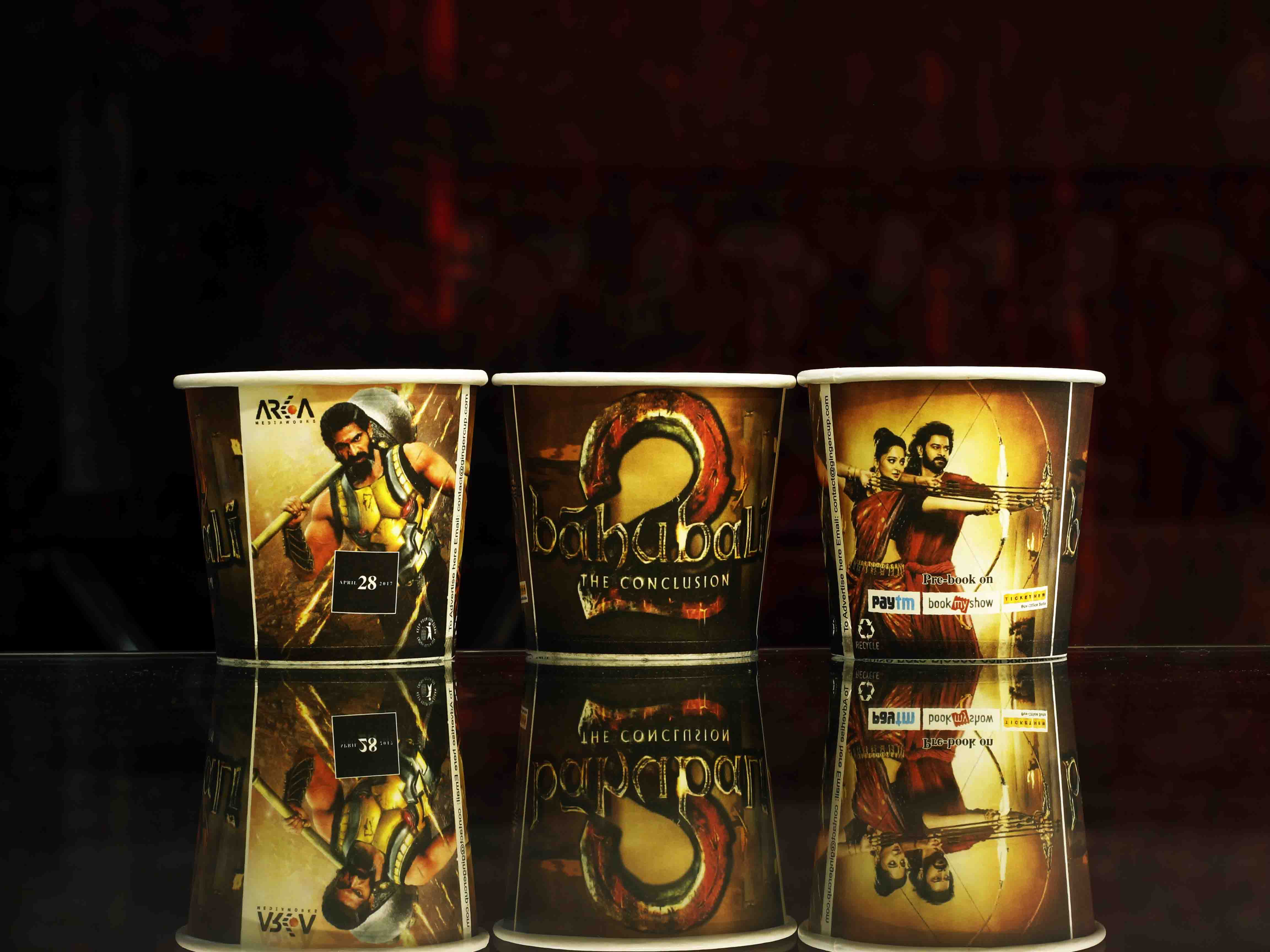 Baahubali Marketing Strategy for Colleges and Corporate -Gingercup