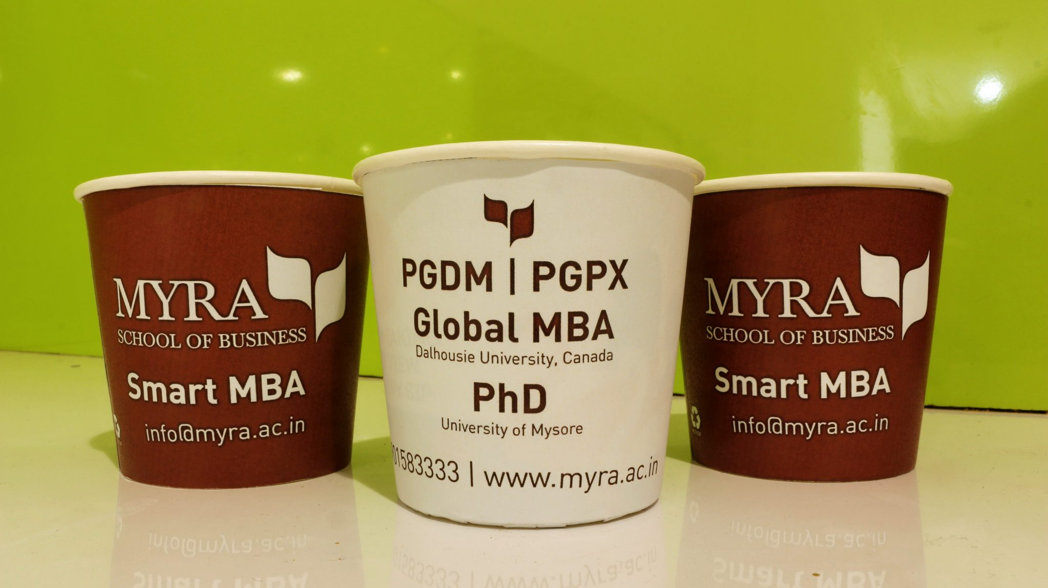 Paper cup marketing by gingercup.com