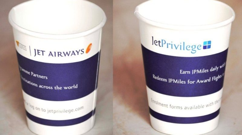 Cup branding in Airlines-In-flight Advertising-Gingercup