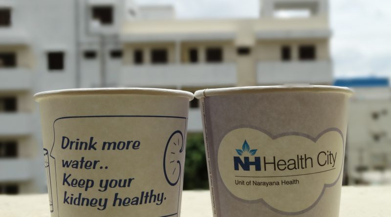 Healthcare and Hospital Marketing-Creative Paper Cup Ads-Gingercup