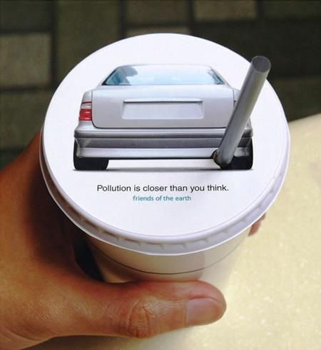 paper cup ad