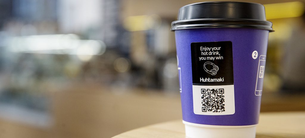 heat-sensitive paper cup branding