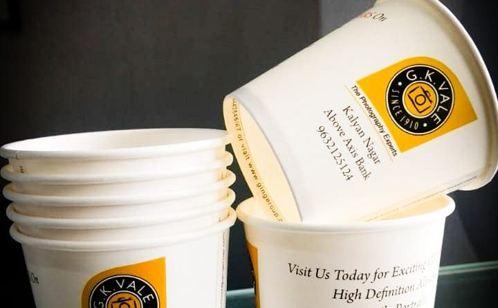 Cup branding campaign for GK Vale