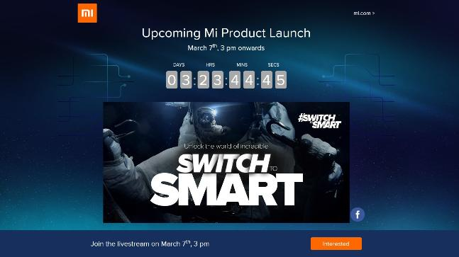 MI product launch countdown
